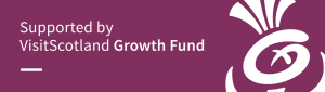 supported by VisitScotland Growth Fund logo